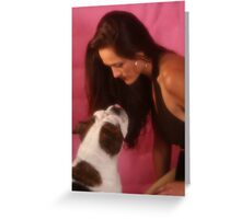Mother & Daughter Lol Greeting Card