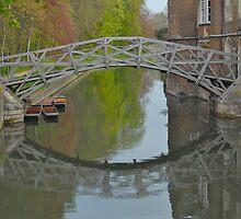 Wooden Bridge by Vicky Hamilton