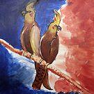 Birds on a Branch by Robert O'Neill