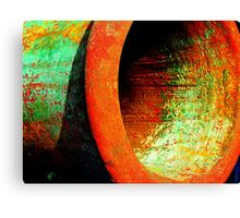 Fight of the rusty colors Canvas Print