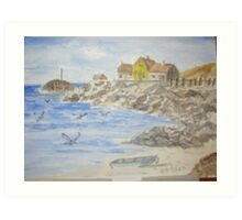 New England Coast Art Print