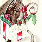 the little red nose dragon by sandra chapdelaine