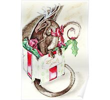 the little red nose dragon Poster