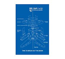 ingress : XMP blueprint Photographic Print