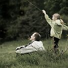 Flying a Kite Two by Nikolay Semyonov