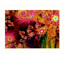 The Colours of Nature Art Print