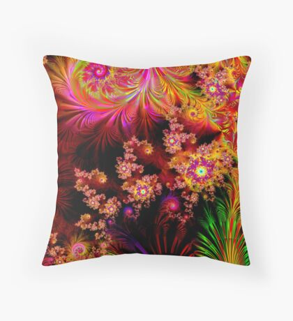 The Colours of Nature Throw Pillow