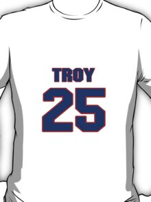 National football player Troy Stradford jersey 25 T-Shirt