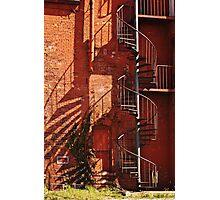 Spiral Stairway 2 Photographic Print