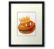 El Rey Torta Framed Print