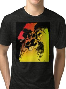 Tropic sunset Tri-blend T-Shirt
