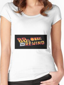 Back to the 80's Women's Fitted Scoop T-Shirt