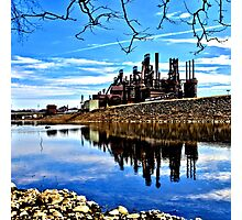 Rusted Reflection Photographic Print