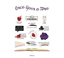 Once Upon a Time Quotes Photographic Print