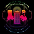 CONSULTING DETECTIVE & TIME TRAVEL INVESTIGATOR RAINBOW VERSION by karmadesigner