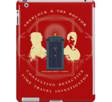 CONSULTING DETECTIVE & TIME TRAVEL INVESTIGATOR   iPad Case/Skin