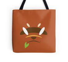 Red Raccoon Dog Tote Bag