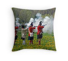 Battlefield Throw Pillow