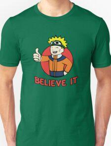 Believe it! Fallout - Naruto Mashup T-Shirt