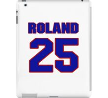National football player Roland Mitchell jersey 25 iPad Case/Skin