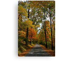 A Perfect Autumn Day Canvas Print