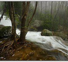 Cascade on Shillalah Creek by ThomasRBiggs