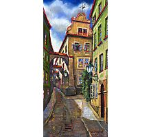 Prague Old Street 3 Photographic Print