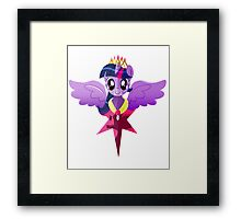 Princess Twilight Sparkle Framed Print