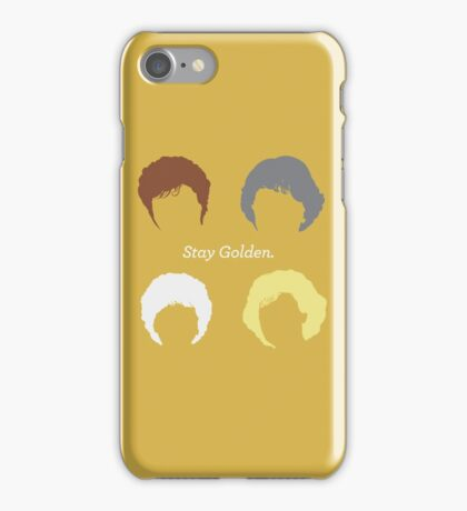 """The Girls // """"Stay Golden"""" iPhone Case/Skin"""