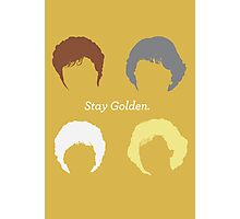 """The Girls // """"Stay Golden"""" Photographic Print"""