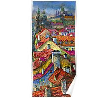 Prague roofs 2 Poster