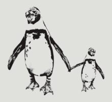 Penguins by Matt West