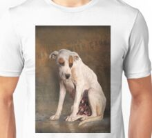handle with care,  street dog portrait Unisex T-Shirt