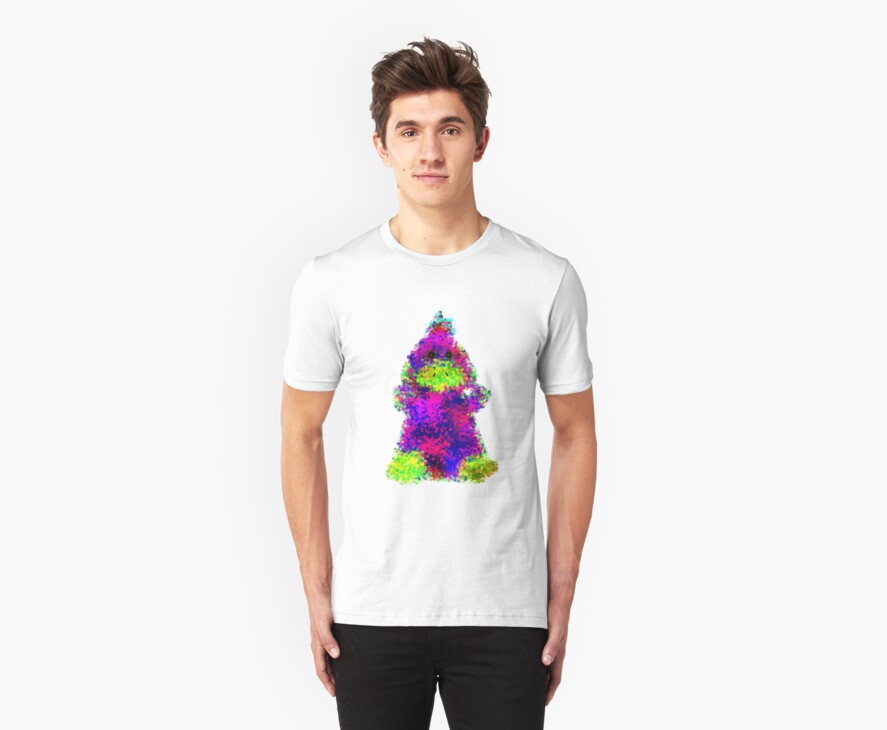 Psychedelic Bubble Duck: the T shirt by Jayson Gaskell