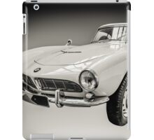 Vintage White BMW 507 iPad Case/Skin