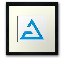 Aarad Magical Sign The Witcher Framed Print