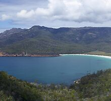 Wineglass Bay by Steven Weeks