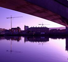 Belfast Docks (1) by SNAPPYDAVE