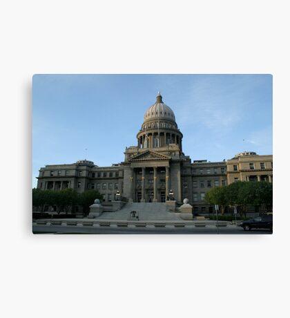 Idaho's capital Canvas Print