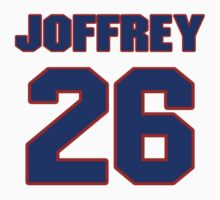 National football player Joffrey Reynolds jersey 26 by imsport