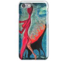 The Burning Giraffe Interpretation iPhone Case/Skin