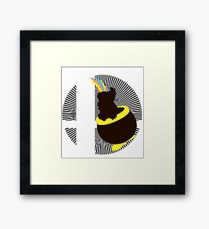 Lemmy - Sunset Shores Framed Print