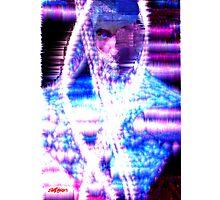 Glitterman Photographic Print