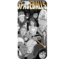 spaceballs character collage iPhone Case/Skin