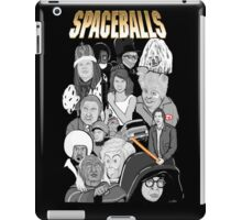 spaceballs character collage iPad Case/Skin