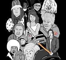spaceballs character collage by gjnilespop