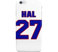 National football player Hal Giancanelli jersey 27 iPhone Case/Skin