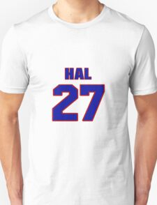 National football player Hal Giancanelli jersey 27 T-Shirt