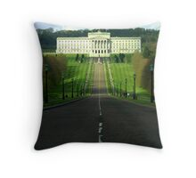 Stormont ... government buildings NI Throw Pillow