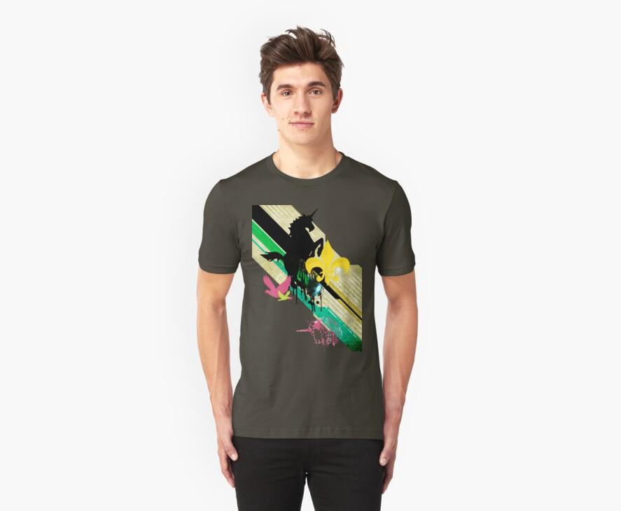 Unicorn T-Shirt by Faizan Qureshi